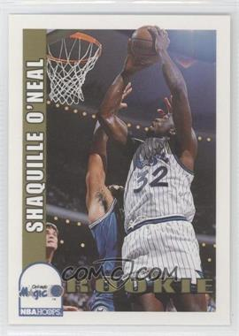 1992-93 NBA Hoops #442 - Shaquille O'Neal