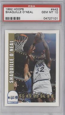 1992-93 NBA Hoops #442 - Shaquille O'Neal [PSA10]