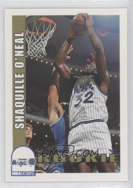 1992-93 NBA Hoops #442 - Shaquille O'Neal
