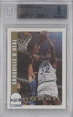 1992-93 NBA Hoops #442 - Shaquille O'Neal [BGS 9]