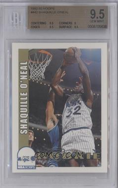 1992-93 NBA Hoops #442 - Shaquille O'Neal [BGS 9.5]