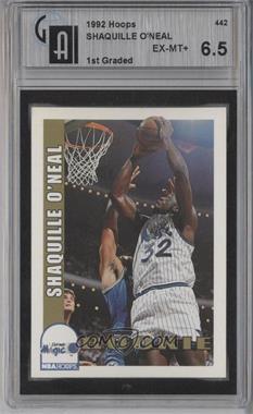 1992-93 NBA Hoops #442 - Shaquille O'Neal [GAI6.5]
