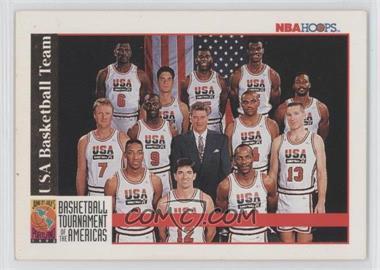 1992-93 NBA Hoops #NoN - Team USA (Olympics) Team, Michael Jordan, Scottie Pippen, Charles Barkley, Larry Bird, Magic Johnson, John Stockton, Karl Malone, David Robinson, Patrick Ewing, Christian Laettner, Clyde Drexler, Chuck Daly