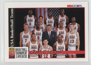 1992-93 NBA Hoops #NoN - Team USA (Olympics) Team, Michael Jordan, Scottie Pippen, Charles Barkley, Larry Bird, Magic Johnson, John Stockton, Karl Malone, David Robinson, Patrick Ewing, Christian Laettner, Clyde Drexler, Chuck Daly