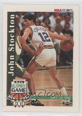 1992-93 NBA Hoops #SU1.1 - John Stockton (Base)