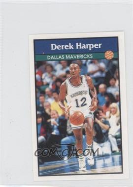 1992-93 Panini Album Stickers - [Base] #66 - Derek Harper