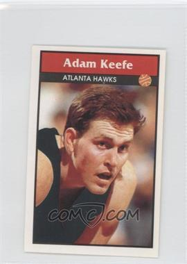 1992-93 Panini Album Stickers #6 - Adam Keefe