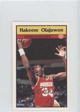 1992-93 Panini Album Stickers #76 - Hakeem Olajuwon