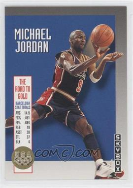 1992-93 Skybox - The Road to Gold #USA11 - Michael Jordan
