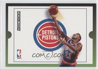 Detroit Pistons Team (Isiah Thomas)