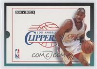 Los Angeles Clippers Team (Ron Harper)