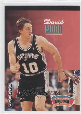 1992-93 Skybox #346 - David Wood