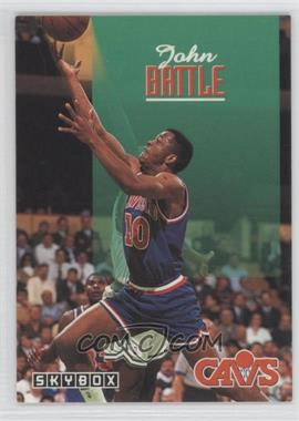 1992-93 Skybox #37 - John Battle