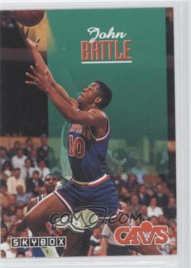 1992-93 Skybox #37 - John Battle