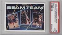 Dennis Rodman, Michael Jordan, Kevin Johnson [PSA9]