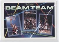 Scottie Pippen, David Robinson, Jeff Malone