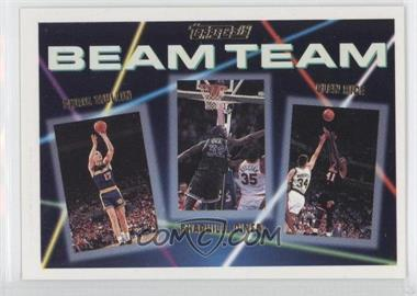 1992-93 Topps Beam Team Gold #7 - Shaquille O'Neal, Chris Mullin, Glen Rice