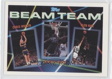 1992-93 Topps Beam Team #7 - Chris Mullin, Shaquille O'Neal, Glen Rice