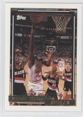 1992-93 Topps Gold #141 - Michael Jordan