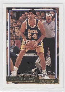 1992-93 Topps Gold #155 - Jack Haley