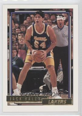 1992-93 Topps Gold #155 - Jack Haley
