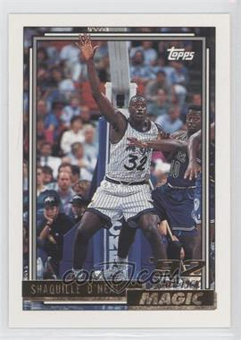 1992-93 Topps Gold #362 - Shaquille O'Neal