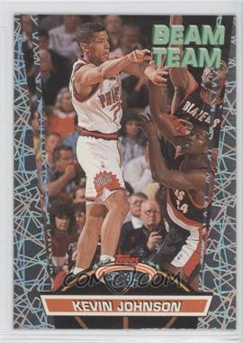 1992-93 Topps Stadium Club - Beam Team #12 - Kevin Johnson