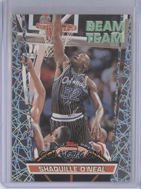 1992-93 Topps Stadium Club Beam Team #21 - Shaquille O'Neal