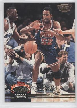 1992-93 Topps Stadium Club Members Only #371 - Chucky Brown