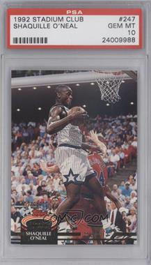 1992-93 Topps Stadium Club #247 - Shaquille O'Neal [PSA 10]