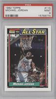 NBA All-Star (Michael Jordan) [PSA9]