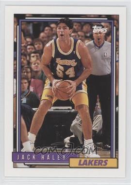 1992-93 Topps #155 - Jack Haley