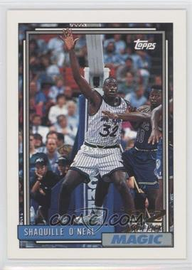 1992-93 Topps #362 - Shaquille O'Neal