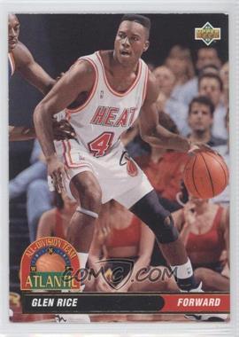 1992-93 Upper Deck - All-Division Team #AD3 - Glen Rice