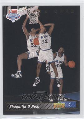 1992-93 Upper Deck - [Base] #1b - Shaquille O'Neal Trade Card