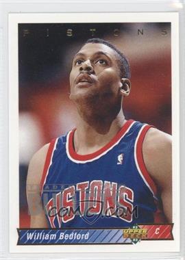 1992-93 Upper Deck - [Base] #83 - William Bedford