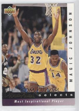 1992-93 Upper Deck - Jerry West Selects #JW7 - Magic Johnson