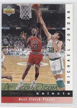 1992-93 Upper Deck - Jerry West Selects #JW9 - Michael Jordan