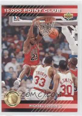 1992-93 Upper Deck 15,000 Point Club #PC4 - Michael Jordan