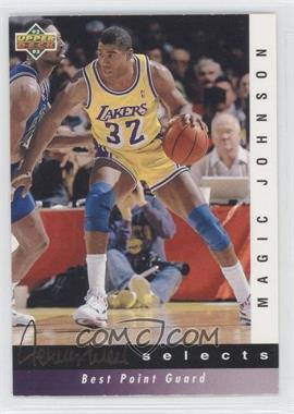 1992-93 Upper Deck Jerry West Selects #JW5 - Magic Johnson