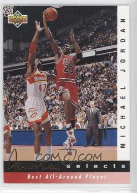 1992-93 Upper Deck Jerry West Selects #JW8 - Michael Jordan