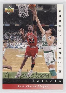 1992-93 Upper Deck Jerry West Selects #JW9 - Michael Jordan
