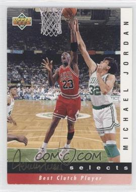 1992-93 Upper Deck Jerry West Selects #JW9 - Michael Jordan