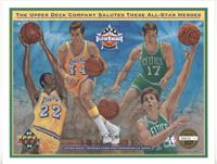 Elgin Baylor, Jeff Webster, Dave Corzine, Jerry West, Joe Harvell