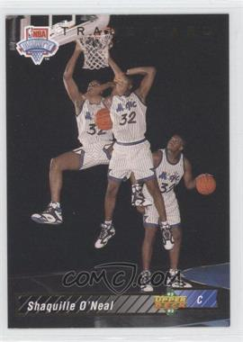 1992-93 Upper Deck #1B - Shaquille O'Neal Trade Card