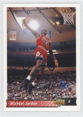1992-93 Upper Deck #23 - Michael Jordan