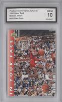 Michael Jordan (Error: 1985,1990 Two-Time Champion) [ENCASED]