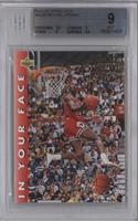 Michael Jordan (Correct: 1987, 1988 Two-Time Champion) [BGS 9]