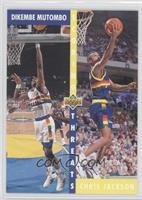Dikembe Mutombo, Chris Jackson