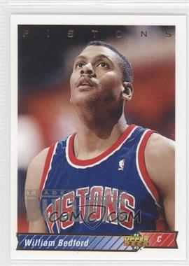 1992-93 Upper Deck #83 - William Bedford